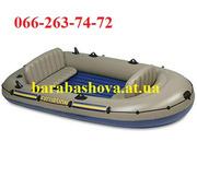 лодки пвх надувные Intex Seahawk,  лодки из ПВХ гребные Intex Challenge