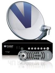 Спутниковое телевидение в Херсоне и Херсонской обл стандарта  VIASAT