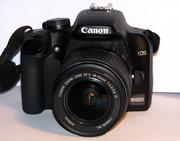Зеркальная фотокамера Canon 1000D