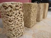 Камень ракушняк,  крымский ракушняк