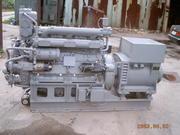 Продаем Дизель-генератор 50 квт на базе дизеля К-462М2 6Ч12/14 судовой