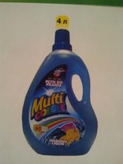 Жидкое средство для стирки – MultiCOLOR 4л