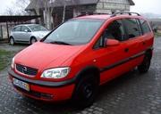 Opel Zafira A крупная разборка запчасти б/у Зафира Опель