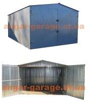 металлический гараж для легкового авто или автобуса