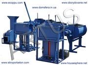 Мини заводы по производству блоков из полистиролбетона.