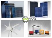 Ветрогенераторы,  солнечные батареи для дома, солнечные коллекторы