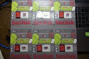 Карты памяти (флешки) SanDisk Ultra 4,  16,  32,  64Gb class 10
