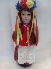 Кукла фарфоровая Украиночка 30см