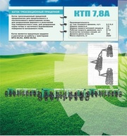Каток КТП - 7.8 КША - кольчато-шпоровый