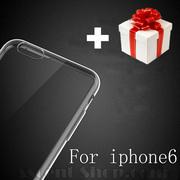 Ультратонкий чехол (0.3 мм) для iphone 6 (4.7 дюйма) + защитная плёнка