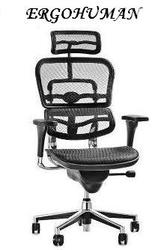 Кресло ERGOHUMAN V2-H24 Net Black