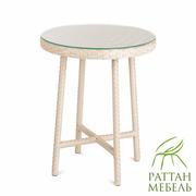 Круглый стол из ротанга,  Стол Эспрессо
