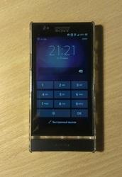 Продам Sony Xperia P LT22i black+чехол в подарок