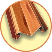 Комплектующие элементы к металлическому сайдингу блок хаус