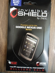 Защитная пленка invisivleShield для HTC Google Nexus One
