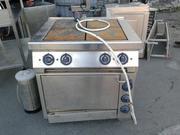 Продам плиту с духовкой ES-T47/1 Kogast бу для общепита