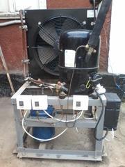 Продам систему технологического хладоснабжения камеры охлаждения и хранения овощей