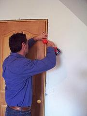 Монтування дверного блока. Херсон
