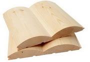 Блок-хауc для внутренней и внешней отделки