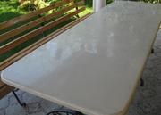 Столешницы и столы кухонные из искусственного камня(литьевого мрамора)