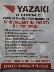 Работа на п/п Ядзаки-Украина г.Ужгород