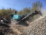 Вторичный щебень,  производство,  доставка. Дробление бетона и ж/бетона.